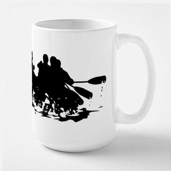 Whitewater Rafting Large Mug