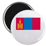 Mongolia Flag Picture Magnet
