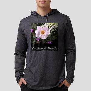 le fleur de versailles pink pose Mens Hooded Shirt