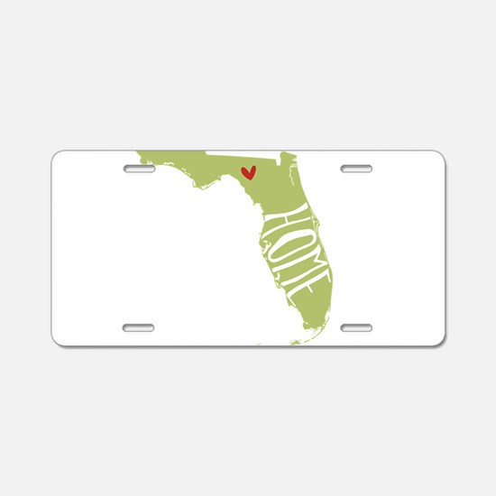 Florida Home Aluminum License Plate