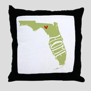 Florida Home Throw Pillow