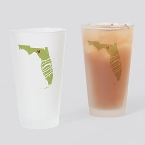 Florida Home Drinking Glass