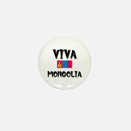 Viva Mongolia Mini Button