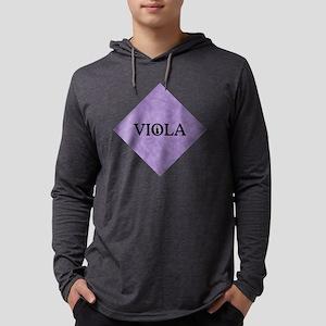 viola violet diamond trans Mens Hooded Shirt