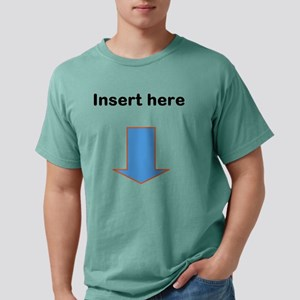 instert here thong Mens Comfort Colors Shirt