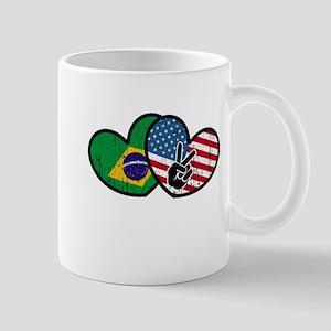 brazilian american Mugs