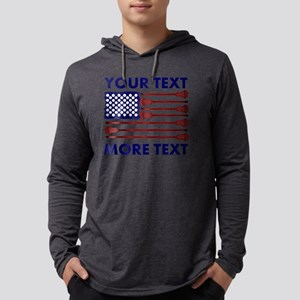 Lacrosse Americas Game Pers Mens Hooded Shirt