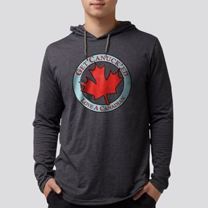 Get Canucked / Mens Hooded Shirt