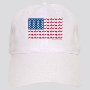 Patriotic German Shepherd Cap