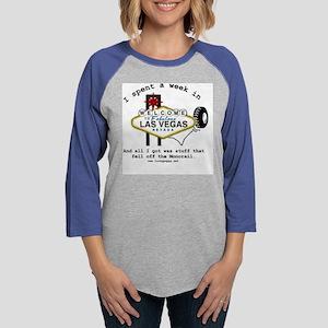 lasvegasmonorail Womens Baseball Tee