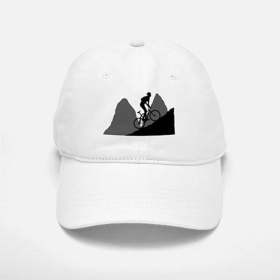 Mountain Biking Baseball Baseball Cap