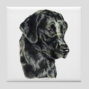 Labrador Retriever Head Tile Coaster