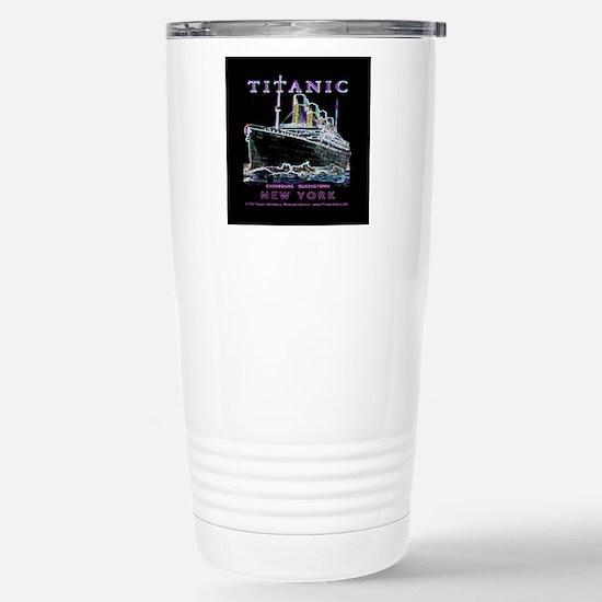 Titanic Neon (black) Stainless Steel Travel Mug