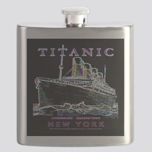 Titanic Neon (black) Flask
