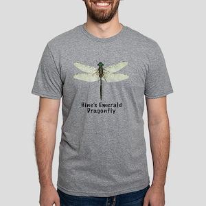 hines emerald dragonfly Mens Tri-blend T-Shirt