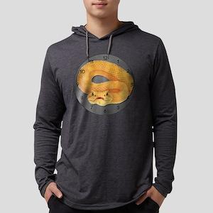 eyelash Mens Hooded Shirt