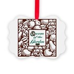Queen of the Garden Picture Ornament