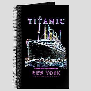 Titanic Neon (black) Journal