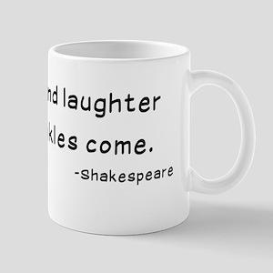 Laughtees Shakespeare Old Wrinkles Mug