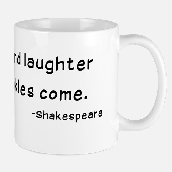 Laughtees Shakespeare Old Wrinkles Mug