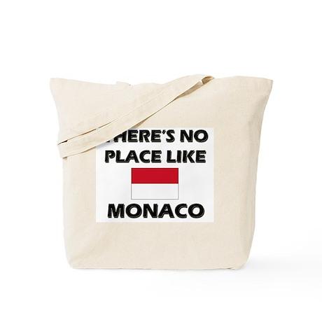 Flag of Monaco Tote Bag