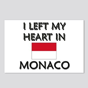 I Left My Heart In Monaco Postcards (Package of 8)
