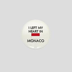 I Left My Heart In Monaco Mini Button