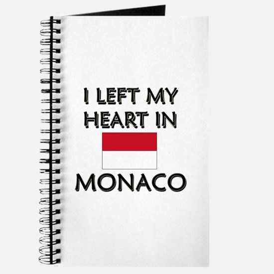 I Left My Heart In Monaco Journal