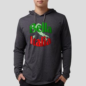 Bella Italia (Beautiful Italy) Mens Hooded Shirt