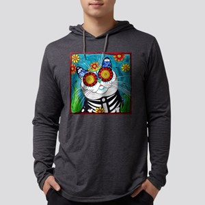 Stormy the Cat Mens Hooded Shirt