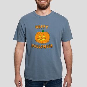 Happy Halloween Dark Mens Comfort Colors Shirt