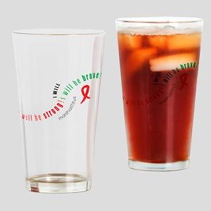 Marshall Titus I WILL Drinking Glass
