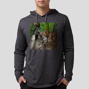 blkfootedpenguins Mens Hooded Shirt