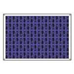 Purple and Black Goth Cat Pattern Banner