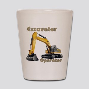 The Excavator Shot Glass