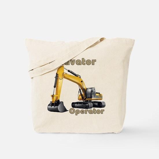 The Excavator Tote Bag