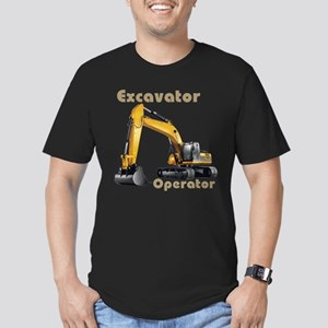 The Excavator Men's Fitted T-Shirt (dark)