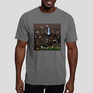 coit tower clock 2.p Mens Comfort Colors Shirt