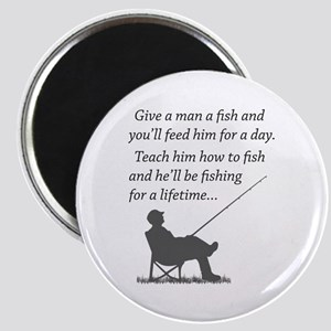 Fishing for a Lifetime Magnet