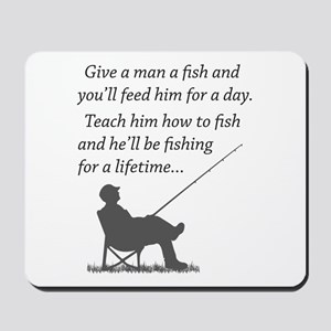 Fishing for a Lifetime Mousepad