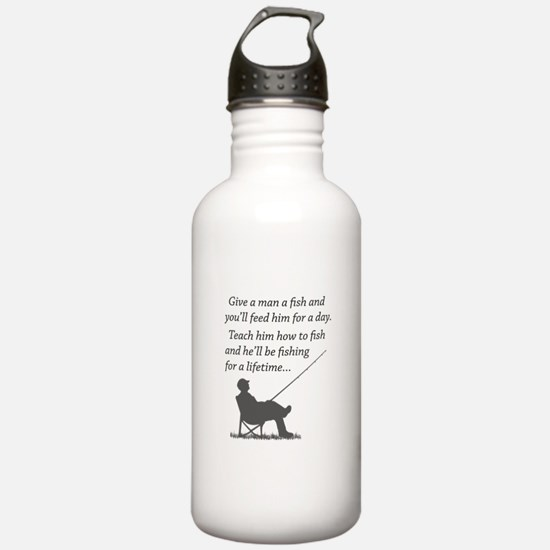 Fishing for a Lifetime Water Bottle