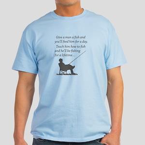 Fishing for a Lifetime Light T-Shirt