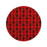 Red Black Goth Cat 3.5