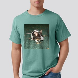 mouse for frisbee Mens Comfort Colors Shirt