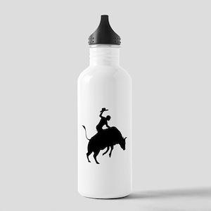 Bull Riding Stainless Water Bottle 1.0L