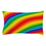 Rainbow Striped Pattern Pillow Case