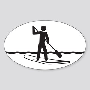 SUP Sticker (Oval)