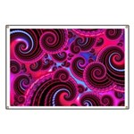 Funky Pink Turquoise Swirl Banner