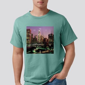 Los Angeles 2 clocks 3.p Mens Comfort Colors Shirt