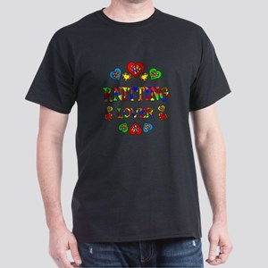 Knitting Lover Dark T-Shirt